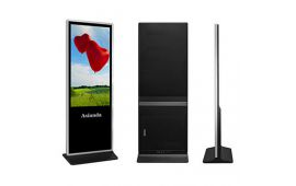 "Android LCD digital signage - 70"" floor standing Android solution LCD advertising player"