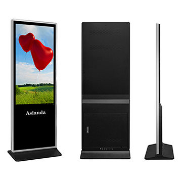 "Android LCD digital signage - 65"" floor standing Android solution LCD advertising player"