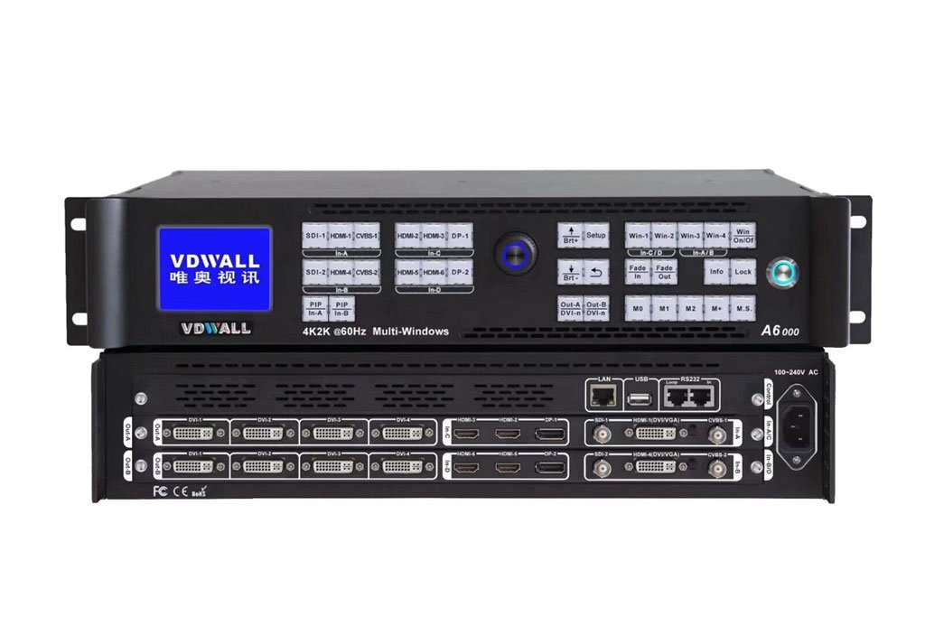LED  4K Video Processor A6000 Series